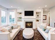 简约欧式风格设计客厅效果图赏析