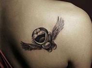女生后背可爱纹身图案大全图片