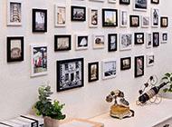 室内美观时尚相片墙设计图片