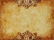 淡雅复古带雕刻花纹图片背景