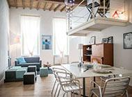 打造情侣极简温馨浪漫公寓效果图