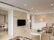 新古典装修客厅电视背景墙图片