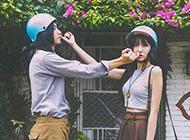 非主流甜蜜情侣图片搞怪