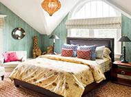 田园卧室装修图复古大气