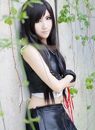 日本游戏《最终幻想7》蒂法个性cosplay写真