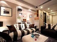 160平三居室温馨简约装修效果图时尚舒适