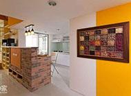 80平方米温暖明亮的跃层式住宅图片
