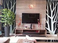 时尚大气的欧式电视背景墙装修效果图