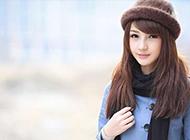 温婉柔美清新淡雅的女生图片