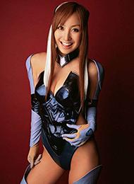 日本性感美女木口亚矢Cosplay现代女战士