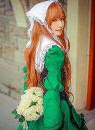 蔷薇少女cosplay女仆装图片