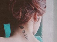 2016欧美个性女生纹身头像图片