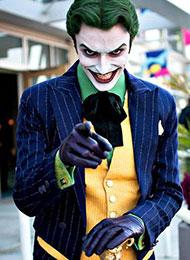 日本cosplay帅哥变身最惊艳小丑