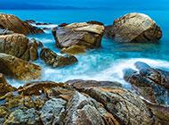 美仑美奂的深圳背仔角海滩图片