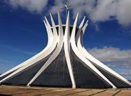 现代建筑巴西利亚大教堂图片