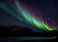 超自然现象唯美北极光图片