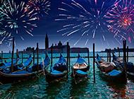 唯美的威尼斯水城风景图片