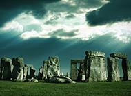 英国索尔兹伯巨石阵建筑图片