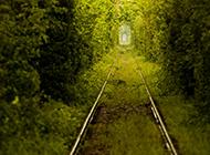神秘唯美的隧道图片素材