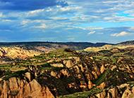 超清黄土高原风景摄影图片