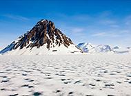 千里冰封的北极风景图片集锦