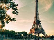 浪漫之都法国巴黎埃菲尔铁塔图片