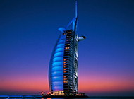 现代化建筑迪拜帆船酒店图片