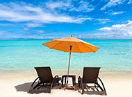 梦幻般的海边沙滩美景图片欣赏