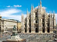 意大利古建筑米兰大教堂图片