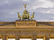 德国勃兰登堡门建筑图片欣赏