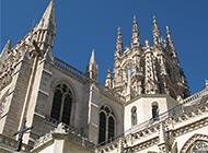 西班牙古建筑布尔戈斯大教堂图片