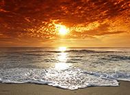 东山岛海滩黄昏风景图片欣赏