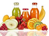 各种瓶装果汁图片素材