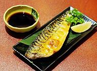 日式美食盐烧鲭鱼图片