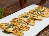 自制日式小吃薯片图片