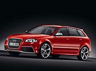 亮红色的奥迪RS3图片欣赏