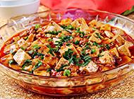香辣可口的川菜麻婆豆腐图片
