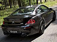 精美的宝马M6四门轿跑车图片
