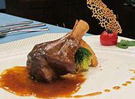 法式西餐剔骨肉图片欣赏