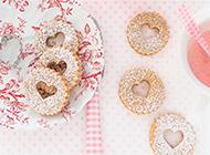 唯美创意心形饼干高清图片