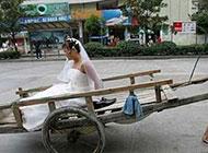 史上最搞笑雷人婚车图片
