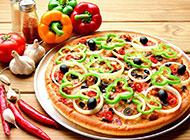 意大利美食披萨高清图片
