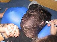 睡着后的恶作剧微信搞怪图片