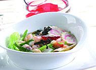 鲜美的西式海鲜汤图片