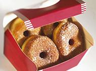 营养均衡的甜甜圈面包图片