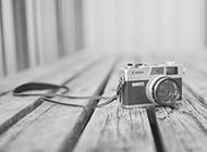 孤独的相机灰色系列背景图片