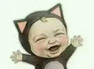 可爱的卡通宝宝搞笑头像