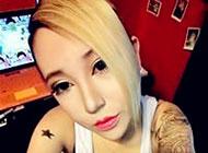 超拽霸气的美女纹身头像图片