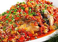 美味的湖南剁椒鱼头图片