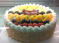 漂亮的欧式水果蛋糕图片